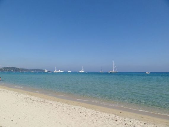 Pampelonne Plage and beach clubs (25 Minutes) via the back roads from the Villa.