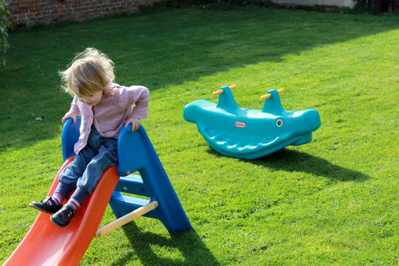 Garden toys available for under fives