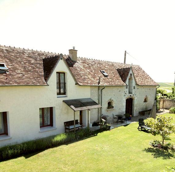 Noix opens into the sunny south facing courtyard garden