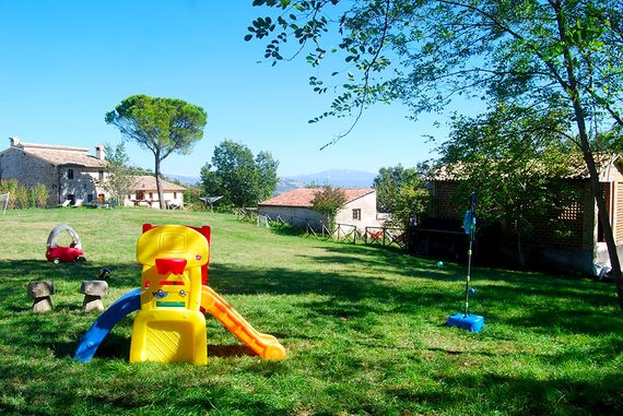 The house & play lawn