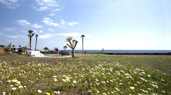 Looking across to the Children´s Playa Area