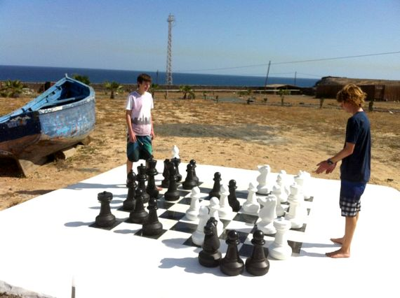 Children´s Play Area- Giant Chess
