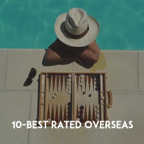 10 Best Rated Overseas