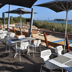 The 'As Dunas' restuarant at Martinhal offers great seafood and classics. It's terrace overlooks the trampoline and sandplay area making it  popular with families seeking lunchtimes and evenings.
