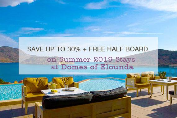 Domes of Elounda Summer 2019 Stays