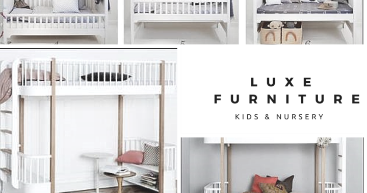 Luxe nursery and children's furniture