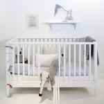 oliver white cot