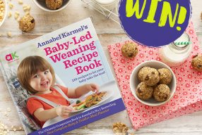 WIN: One of 5 Exclusive Signed Baby-Led Weaning Recipe Books from Annabel Karmel