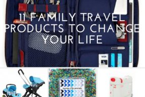 11 Family Travel Products To Change Your Life