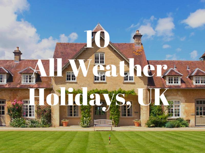 weatherproof holidays uk