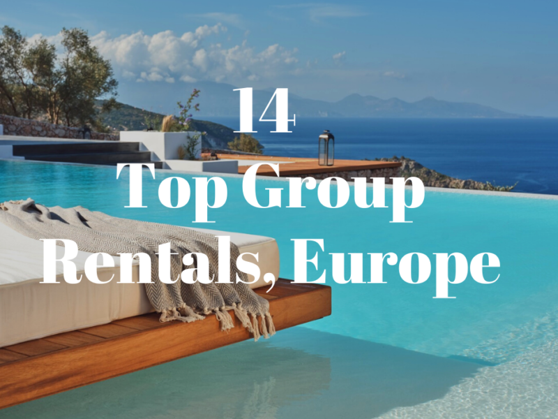 luxury group accommodation in europe