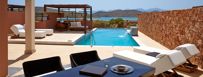 Private Pools with a View